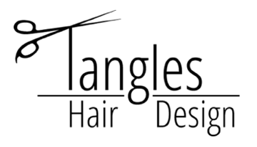 Tangles Hair Design Logo